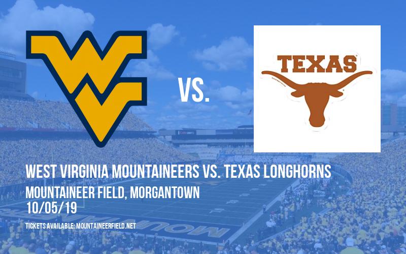 PARKING: West Virginia Mountaineers vs. Texas Longhorns at Mountaineer Field