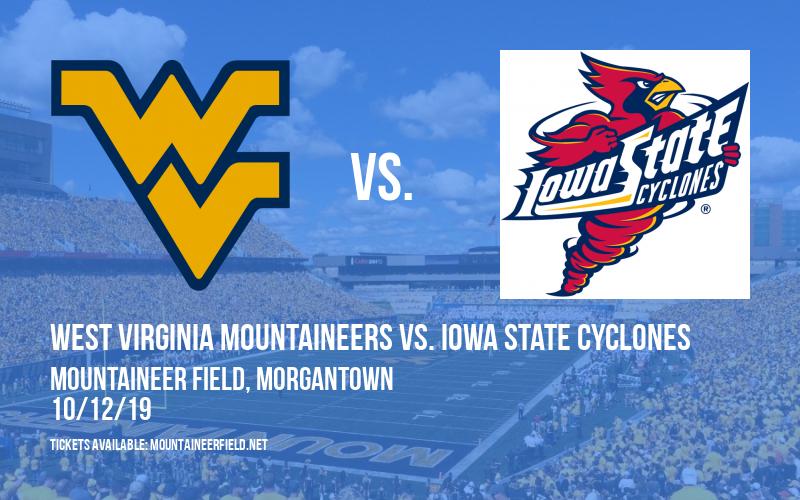 PARKING: West Virginia Mountaineers vs. Iowa State Cyclones at Mountaineer Field