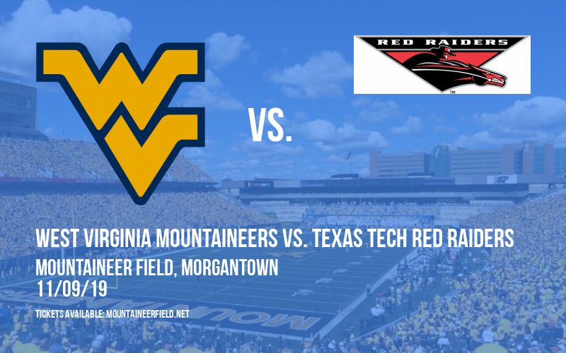 PARKING: West Virginia Mountaineers vs. Texas Tech Red Raiders at Mountaineer Field