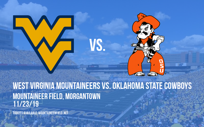 PARKING: West Virginia Mountaineers vs. Oklahoma State Cowboys at Mountaineer Field