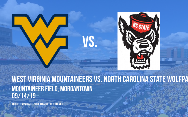 PARKING: West Virginia Mountaineers vs. North Carolina State Wolfpack at Mountaineer Field