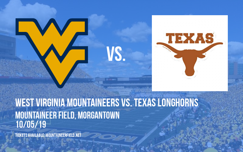 West Virginia Mountaineers vs. Texas Longhorns at Mountaineer Field
