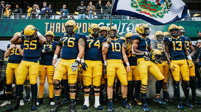 West Virginia Mountaineers vs. TCU Horned Frogs at Mountaineer Field