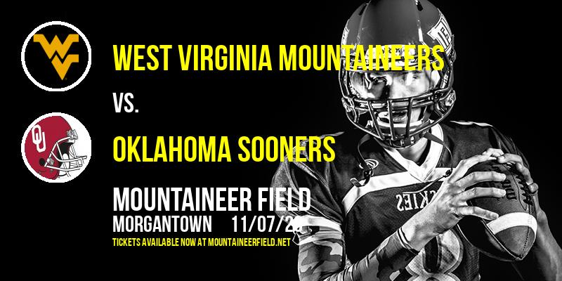 West Virginia Mountaineers vs. Oklahoma Sooners at Mountaineer Field
