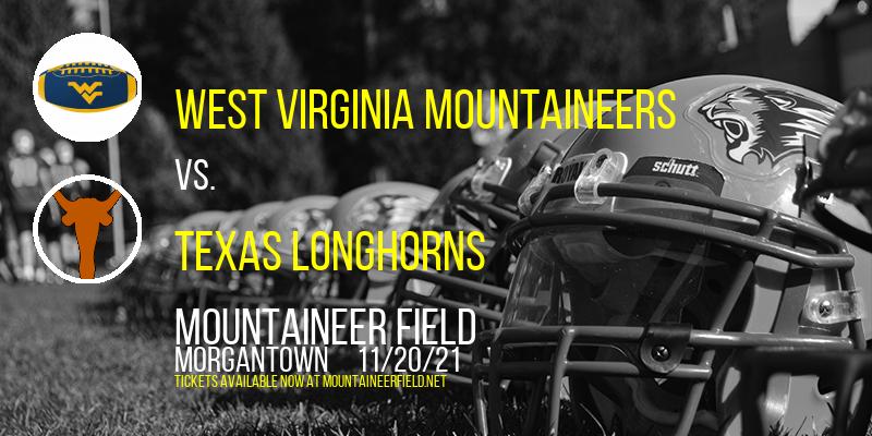 West Virginia Mountaineers vs. Texas Longhorns at Mountaineer Field